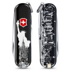 Мультитул Victorinox Classic LE 2018, 58 mm, 7 Functions, NEW YORK