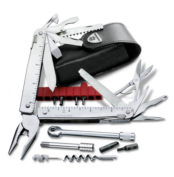 Мультитул Victorinox SwissTool Plus 39, 115 mm, 39 Functions
