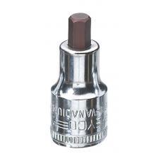 Головка торцевая со вставкой-битой под внутренний шестигранник 8 мм хромированная 52 мм HEYCO HE-00050310483