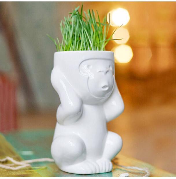 Горшок для растений Экочеловеки Eco Игнорик