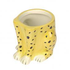 Горшок цветочный Doiy Urban Jungle Cheetah