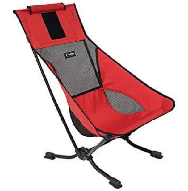 Стул складной туристический Helinox Beach Chair Rhubarb