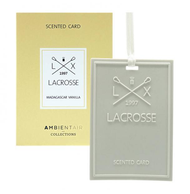 Карточка ароматическая Ambientair Мадагаскарская ваниль