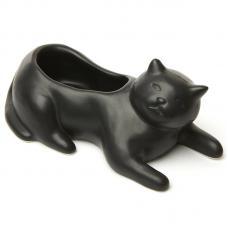 Кашпо Kikkerland Cosmo The Black Cat PL14