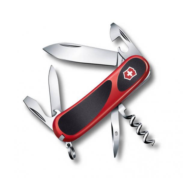 Нож Victorinox EvoGrip 10, 85 мм, 13 функций, красный