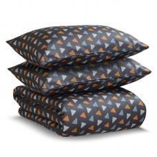 Комплект постельного белья двуспальный Tkano мята Triangles Wild
