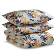 Комплект постельного белья двуспальный Tkano шафран Leaves Wild