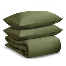Комплект постельного белья полутораспальный Tkano оливковый Wild