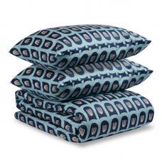 Комплект постельного белья сатин Tkano Cuts&Piece 2-спальный Blossom Time