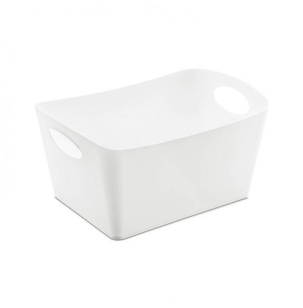 Контейнер для хранения Koziol Boxxx M белый