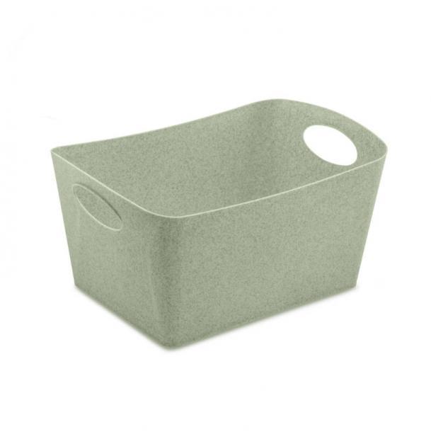 Контейнер для хранения Koziol Boxxx M Organic 35 л зелёный