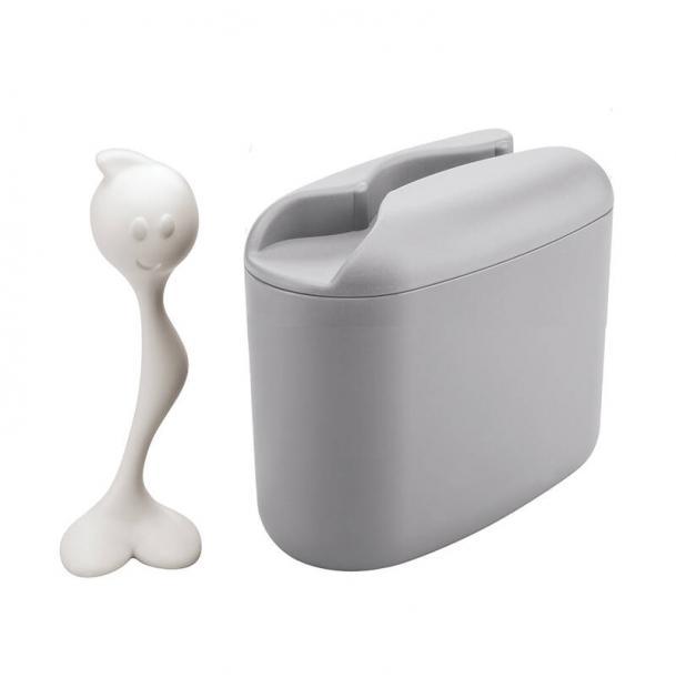 Контейнер для хранения продуктов Koziol Hot Stuff M серый
