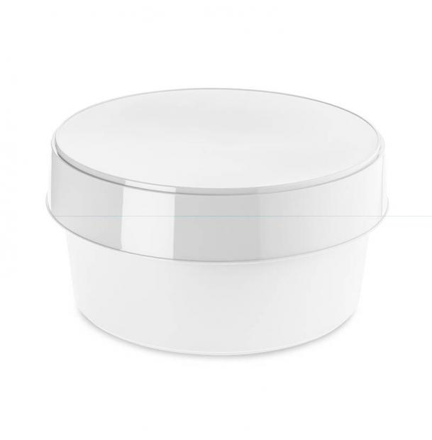 Контейнер для хранения с крышкой Koziol Top Secret белый