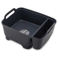 Контейнер Для Мытья Посуды Joseph Joseph Wash&Drain™  Тёмно-Серый