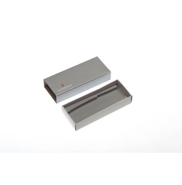 Коробка для ножей VICTORINOX 111 мм толщиной до 3 уровней, картонная, серебристая
