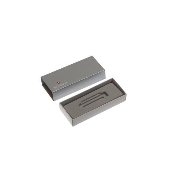 Коробка для ножей VICTORINOX 58 мм толщиной 2 и более уровней (MiniChamp), картонная, серебристая