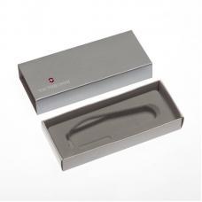 Коробка для ножей VICTORINOX 91 мм толщиной до 3 уровней, картонная, серебристая