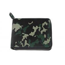 Кошелёк ZIPPO зелёно-чёрный камуфляж 12x2x105 см