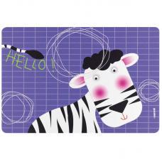 Коврик сервировочный детский Guzzini Hello зебра