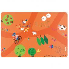 Коврик сервировочный детский Guzzini On The Road оранжевый