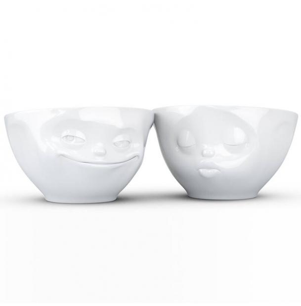 Набор из 2 чаш Tassen Grinning & Kissing 200 мл белый T01.22.01