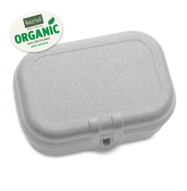 Ланч-бокс Koziol Pascal S organic серый
