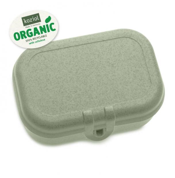 Ланч-бокс Koziol Pascal S organic зелёный