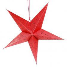LED-светильник EnjoyMe Star en_ny0061 подвесной, красный, длина 60 см