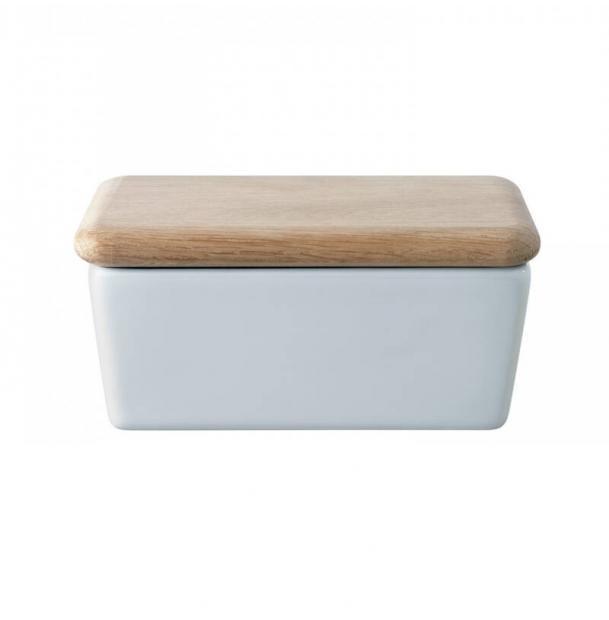 Маслёнка с крышкой LSA International Dine 10 см