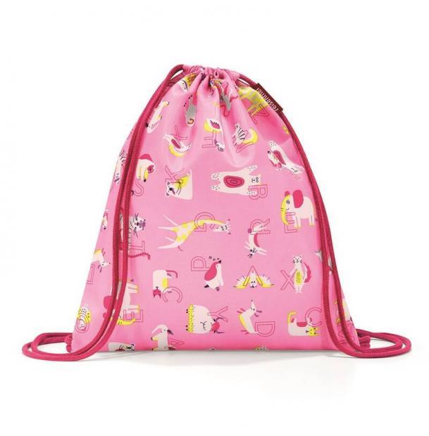 Мешок детский Reisenthel Mysac abc friends pink