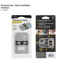 Мультитул Nite Ize Financial Tool Multi Tool Wallet Stainless