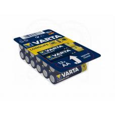 Набор батарей Varta Longlife AA 12 шт