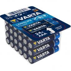 Набор батарей Varta Longlife Power AAA 24 шт