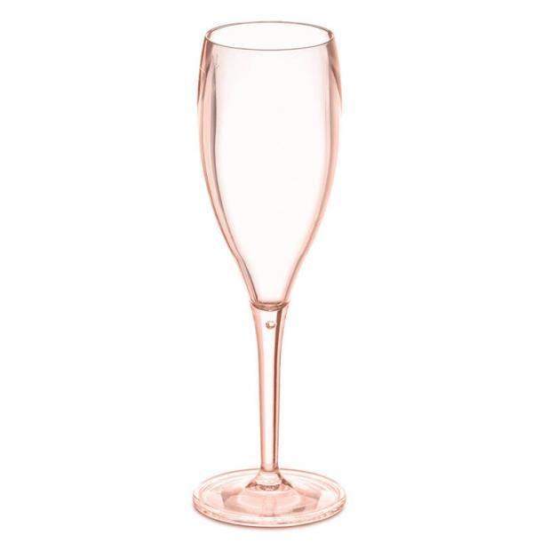 Набор бокалов для шампанского 4 шт Koziol Superglas Cheers no. 1 100 мл розовый