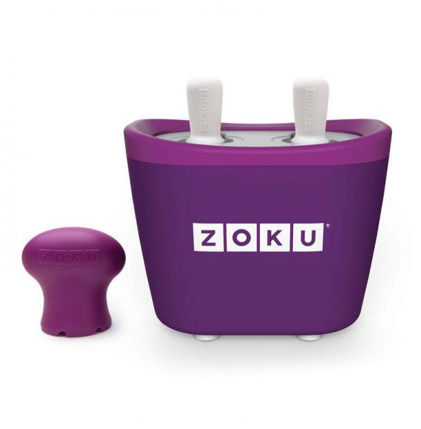 Набор для приготовления мороженого Zoku Duo Quick Pop Maker фиолетовый