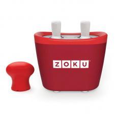 Набор для приготовления мороженого Zoku Duo Quick Pop Maker красный