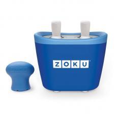 Набор для приготовления мороженого Zoku Duo Quick Pop Maker синий