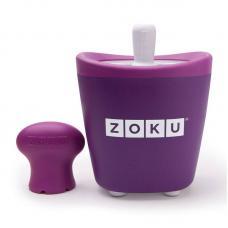 Набор для приготовления мороженого Zoku Single Quick Pop Maker фиолетовый