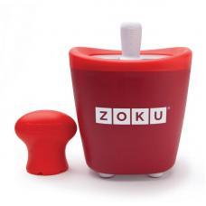 Набор для приготовления мороженого Zoku Single Quick Pop Maker красный