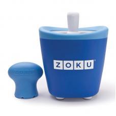 Набор для приготовления мороженого Zoku Single Quick Pop Maker синий