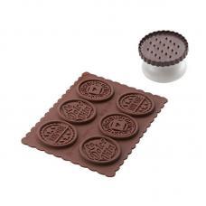 Набор для приготовления печенья Cookie Dolce Vita Slim Silikomart 22.165.77.0165
