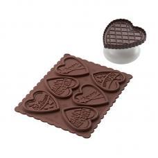 Набор для приготовления печенья Cookie Love Slim Silikomart 22.166.77.0165