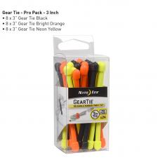 "Набор хомутов Nite Ize Gear Tie ProPack 3"" 24pk Assorted"