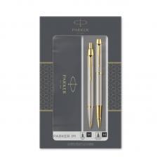 Набор: IM Core Brushed Metal GT - ручки роллерная и шариковая