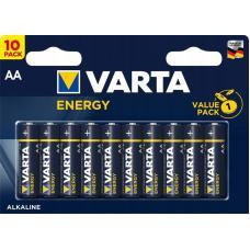 Набор из 10 батарей Varta Energy AA