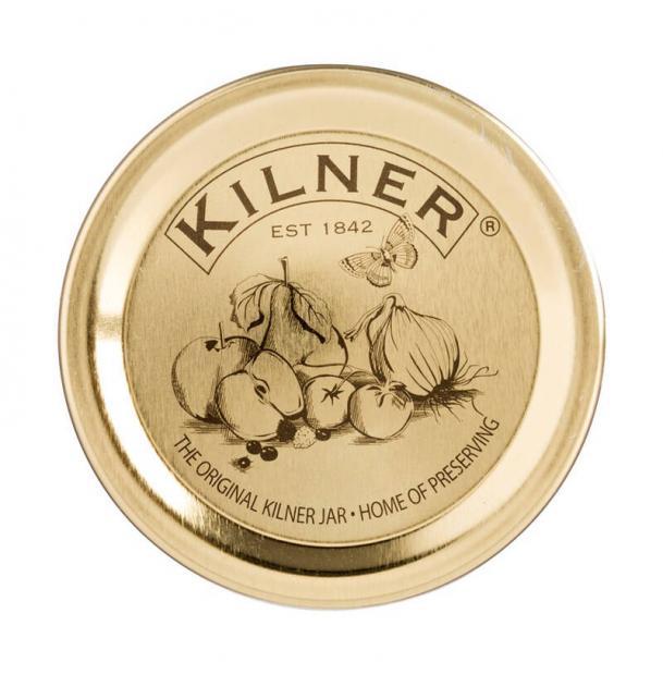 Набор Из 12 Плоских Крышек Kilner 10См K_0025.396V