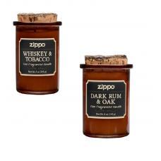 Набор из 2 ароматизированных свеч Zippo 70015-70016