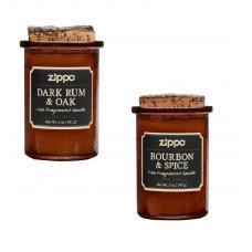 Набор из 2 ароматизированных свеч Zippo 70016-70017