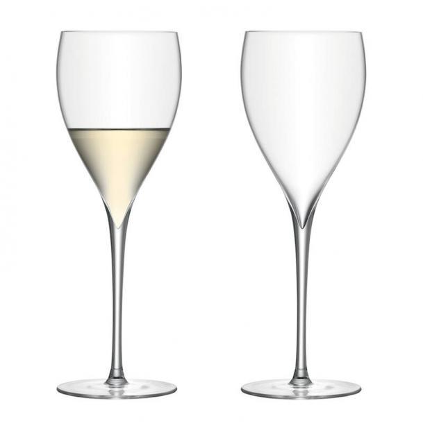 Набор из 2 бокалов для белого вина  LSA International Savoy 380 мл прозрачный