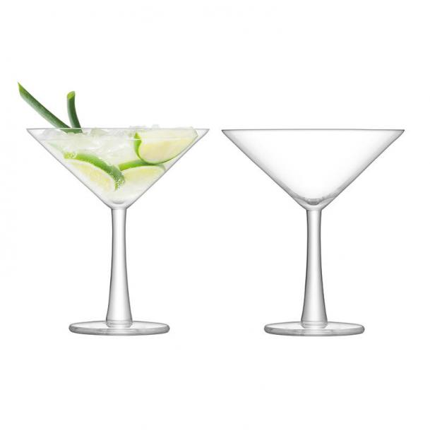 Набор из 2 бокалов для коктейлей LSA International Gin 220 мл